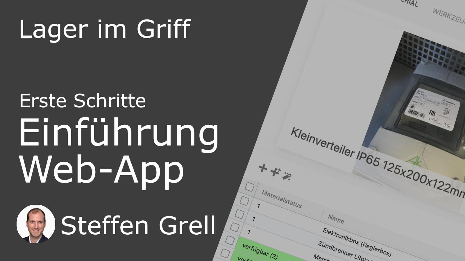 Einführung Web-App