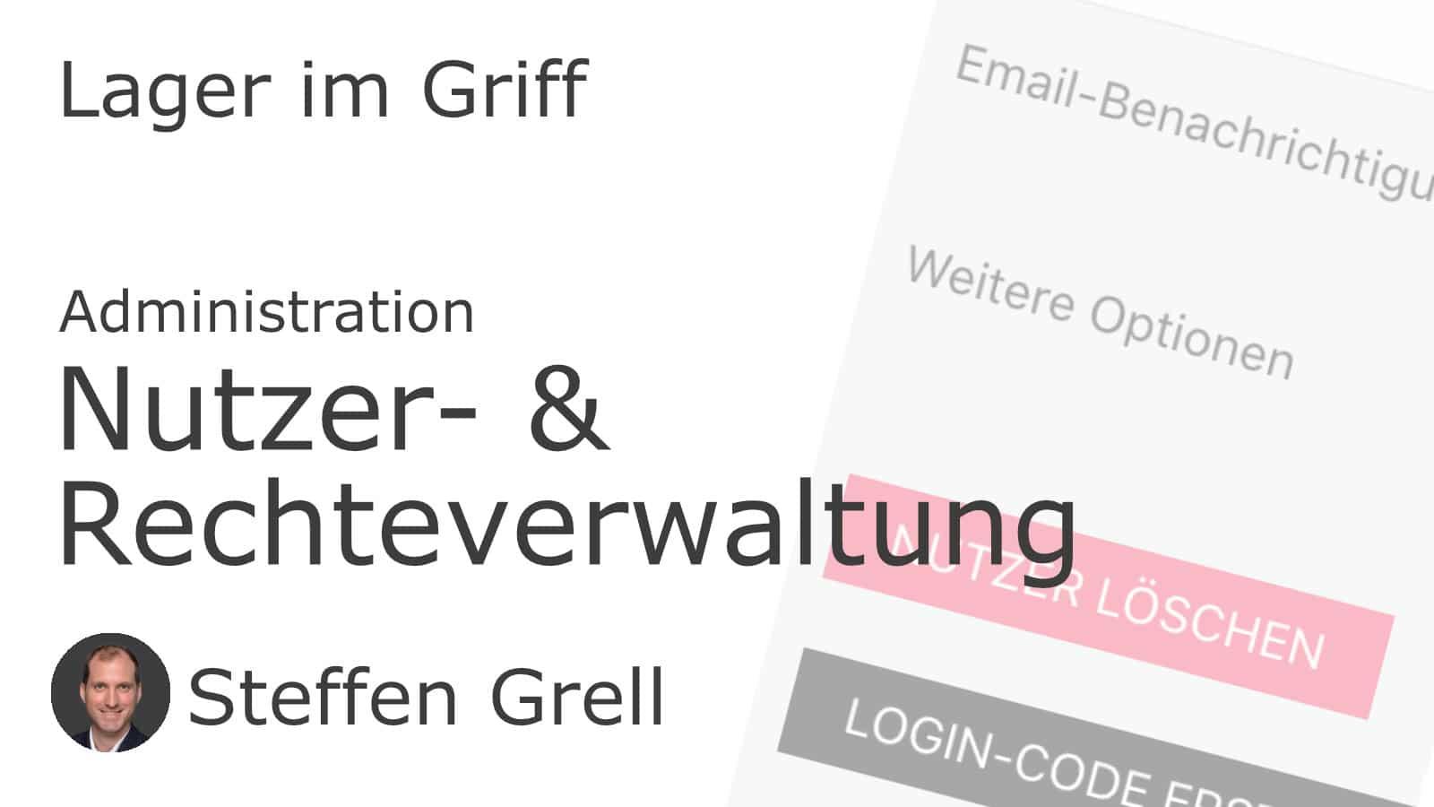 Nutzer- & Rechteverwaltung